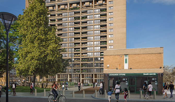 Balfron Tower, Poplar, London E14